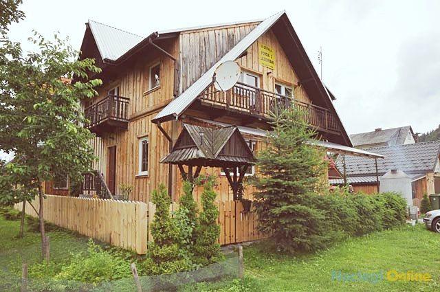 Góralski domek w Pieninach