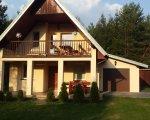 Dom z sauną 10-osobowy, Mazury