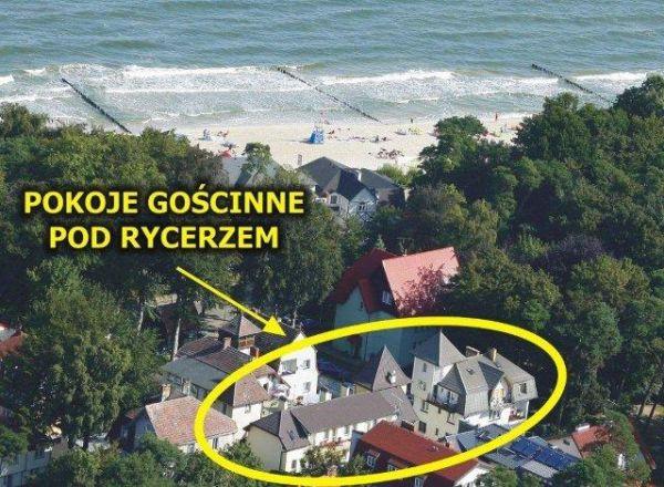 Pokoje Gościnne Pod Rycerzem 80 m od plaży w Ustce