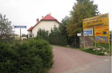 Pole Namiotowe i Dom Wczasowy KRYSTYNA