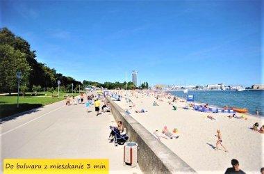POKOJE, MIESZKANIE - GDYNIA, do morza, plaży 3min!