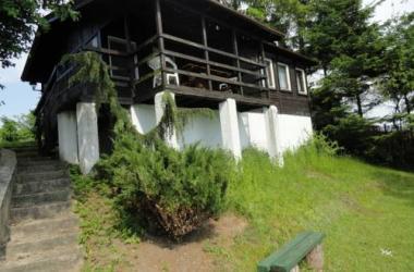 Domek nad jeziorem Mikołajskim