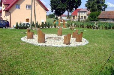 Dom całoroczny we wsi Grabowo z osobnym wejściem