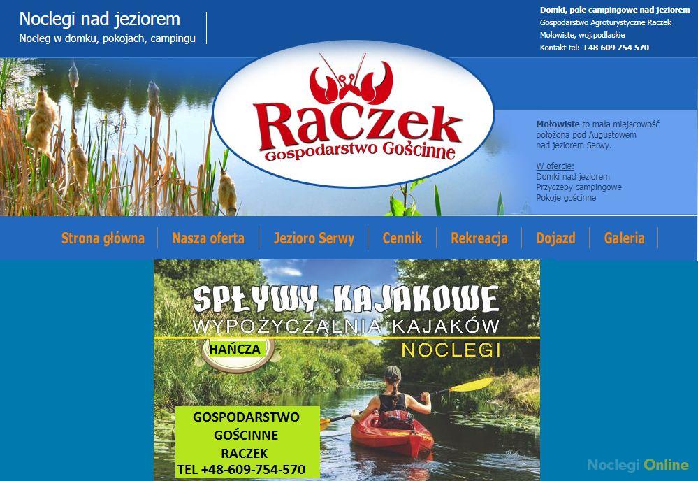 Gospodarstwo Gościnne Raczek
