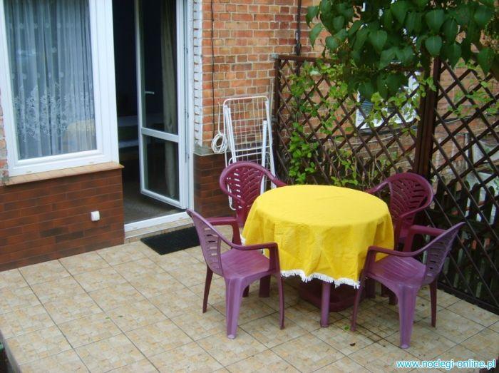 Mieszkanie na wakacje - grill, taras i ogródek