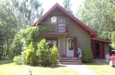 NA WEEKEND,URLOP--wynajmę dom przy lesie nad zalewem Sulejowskim
