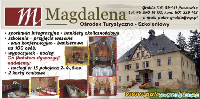 Ośrodek Turystyczno-Szkoleniowy MAGDALENA