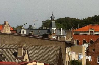 Paryskie dachy nad Zatoka Pucka