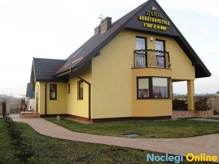 Pensjonat Agroturystyczny Złota Rybka nad jeziorem Narty