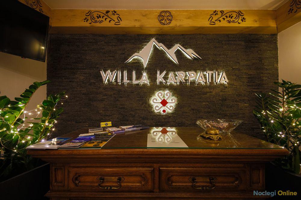 Willa GRAND Karpatia - kominek, JACUZZI, sauna 1000 m n.p.m.