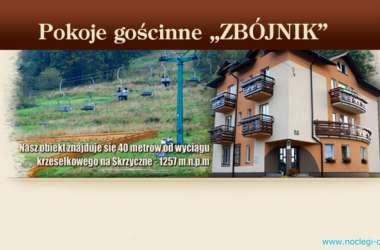 Pokoje gościnne ZBÓJNIK - Teresa i Szymon Kasoń