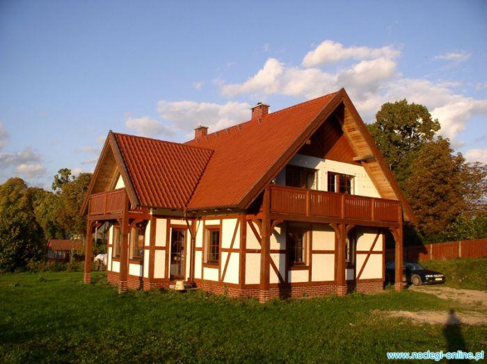 Pokoje na Mazurach - Chata za wsią