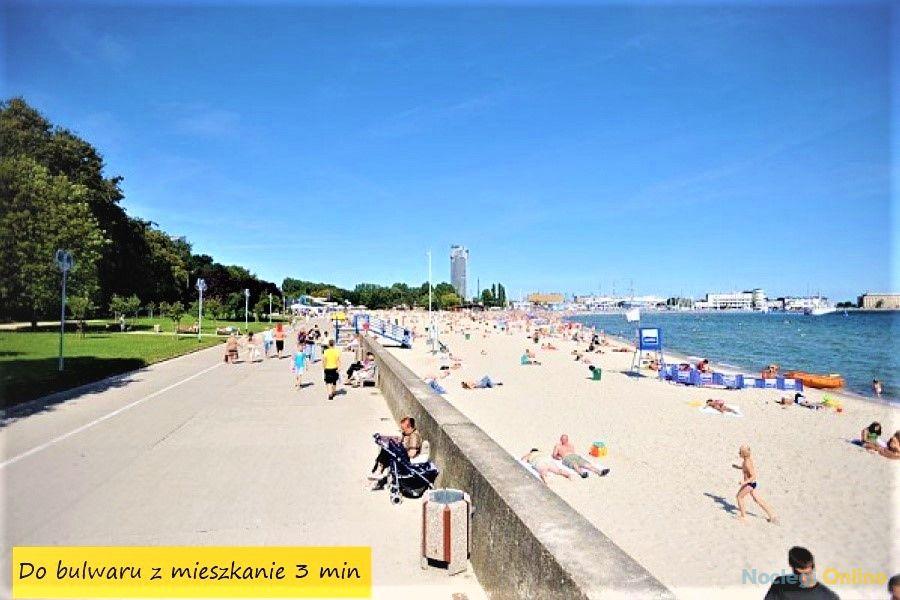 POKOJE przy PLAŻY, MIESZKANIE - GDYNIA, do morza, plaży 3min!