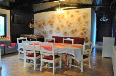 SANDRA - dom całoroczny na Kaszubach