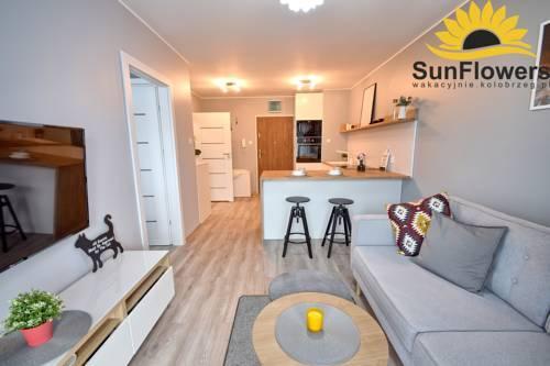SunFlowers Apartament Bursztynowy z garażem