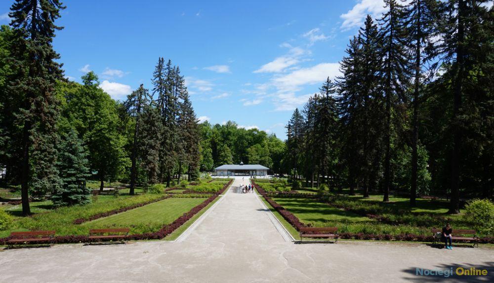 Villa w parku